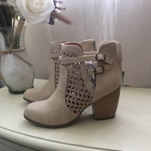 Shoes - Size 7 Qupid booties! NIB!